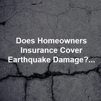 Home Insurance Earthquake Coverage